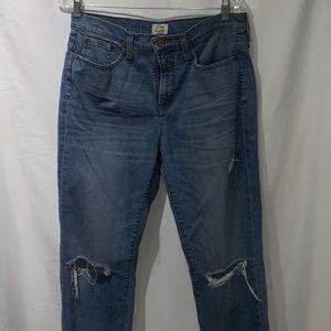 J.Crew Straightaway Straight Leg Jeans